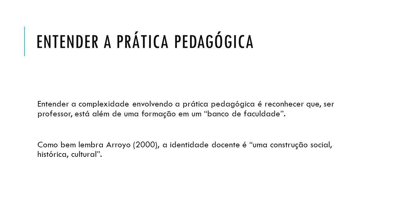 Entender a prática pedagógica