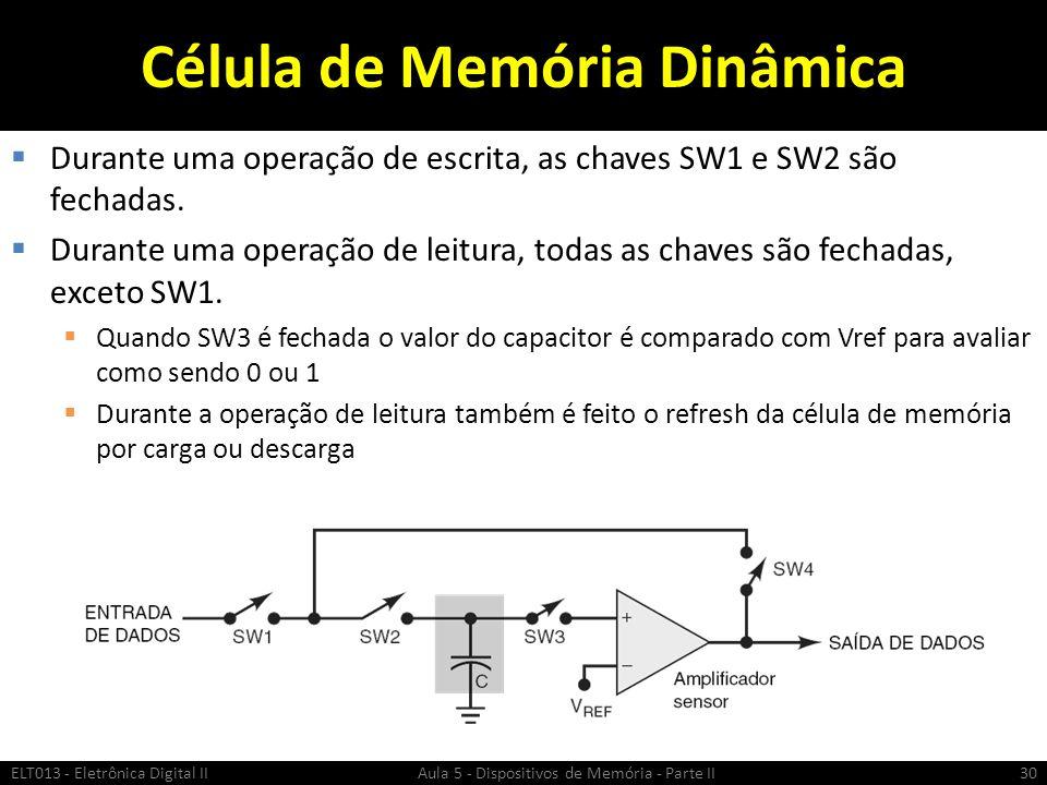 Célula de Memória Dinâmica
