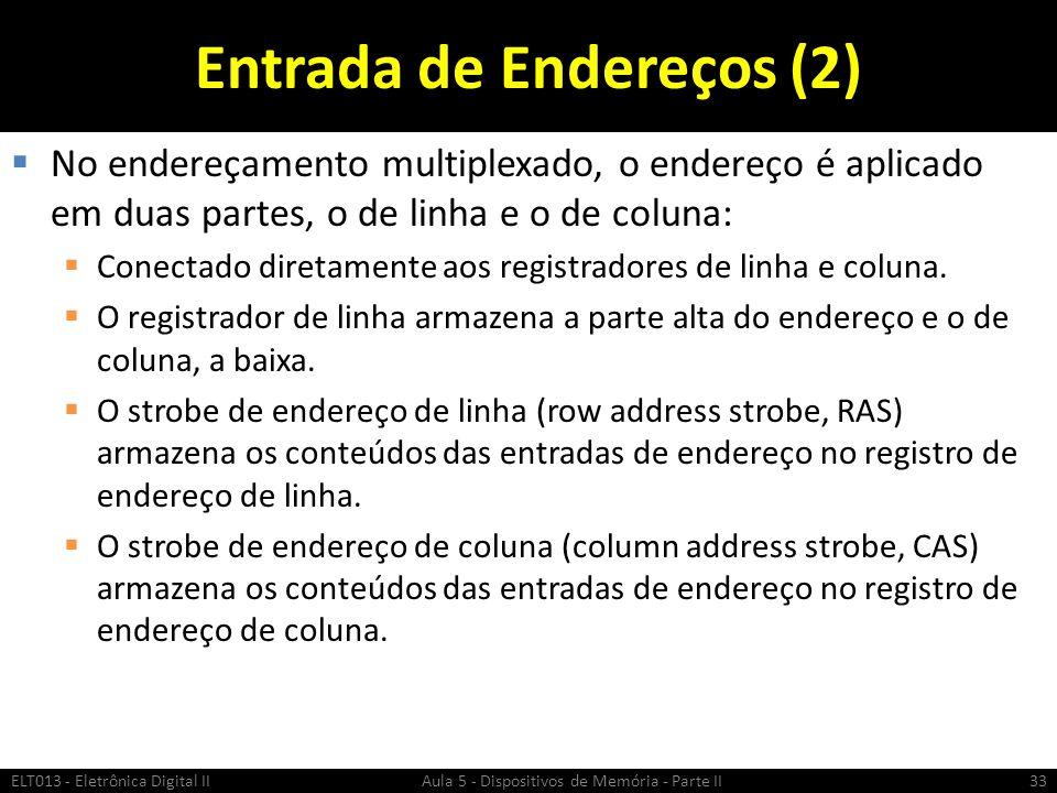 Entrada de Endereços (2)