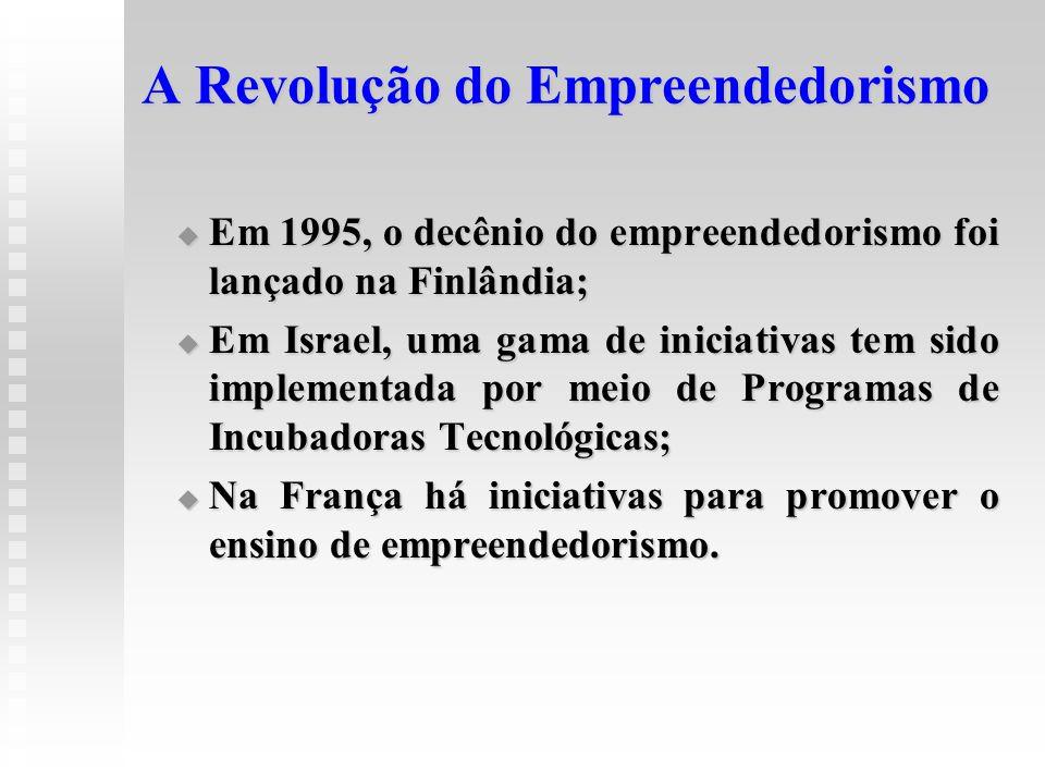 A Revolução do Empreendedorismo