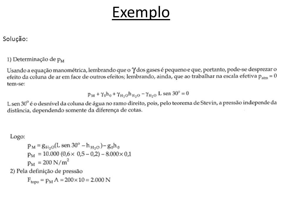 Exemplo Solução: