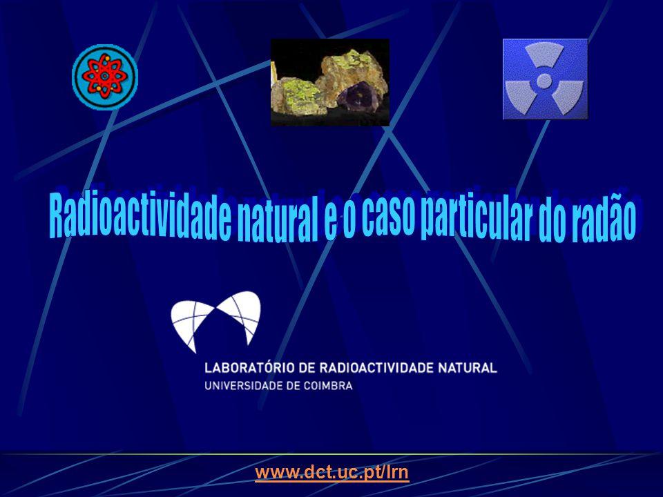 Radioactividade natural e o caso particular do radão
