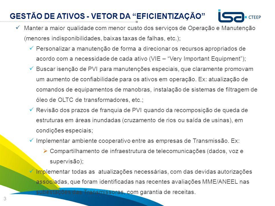 GESTÃO DE ATIVOS - VETOR DA EFICIENTIZAÇÃO