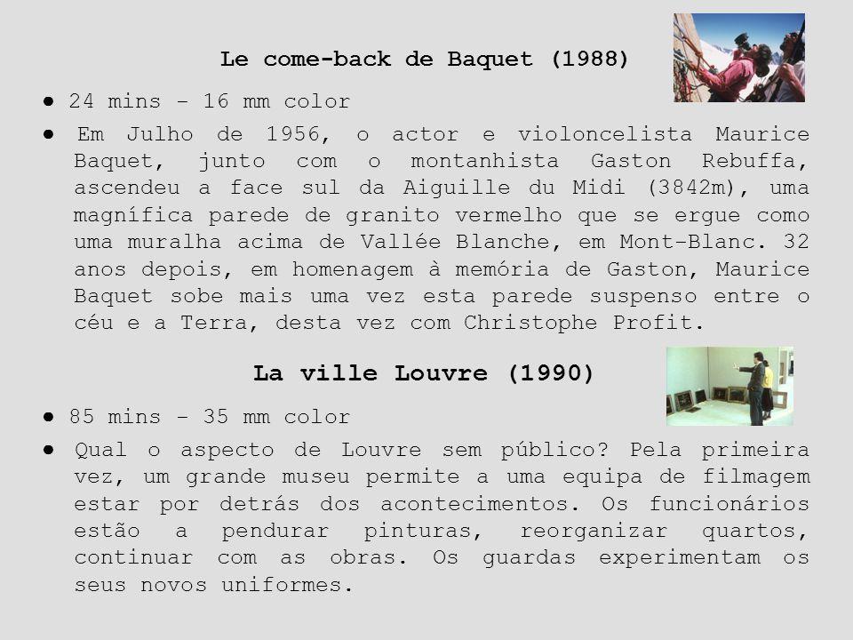 Le come-back de Baquet (1988)