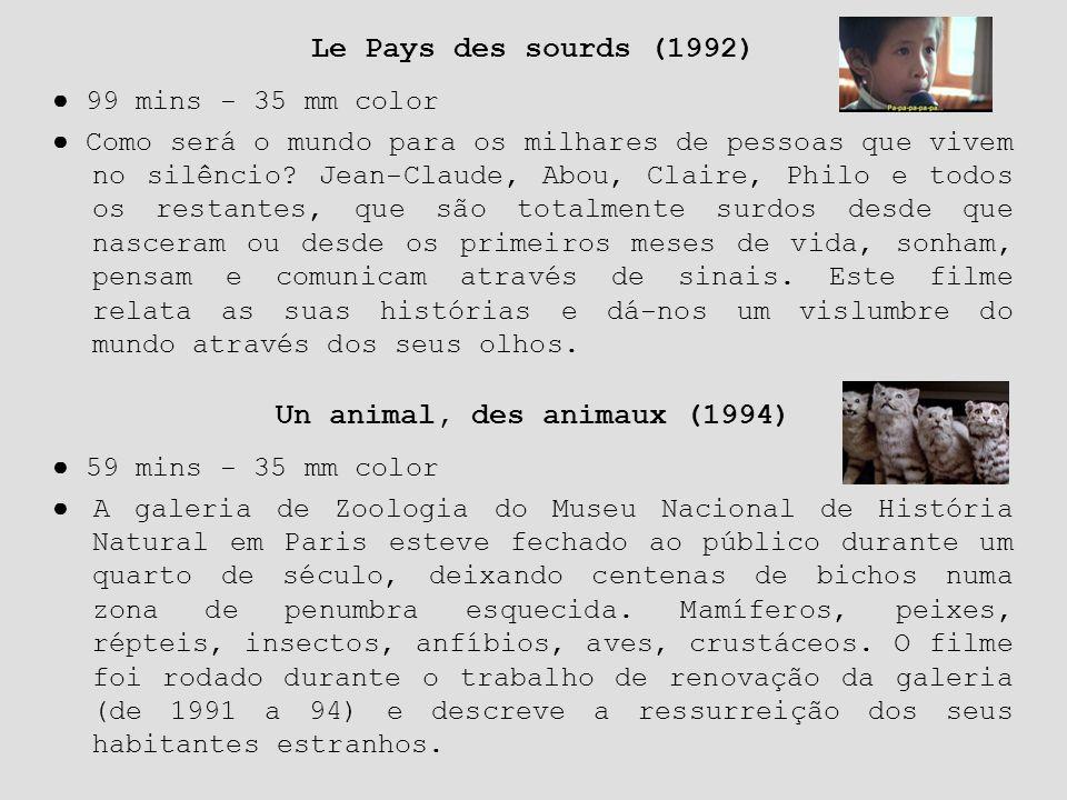 Un animal, des animaux (1994)