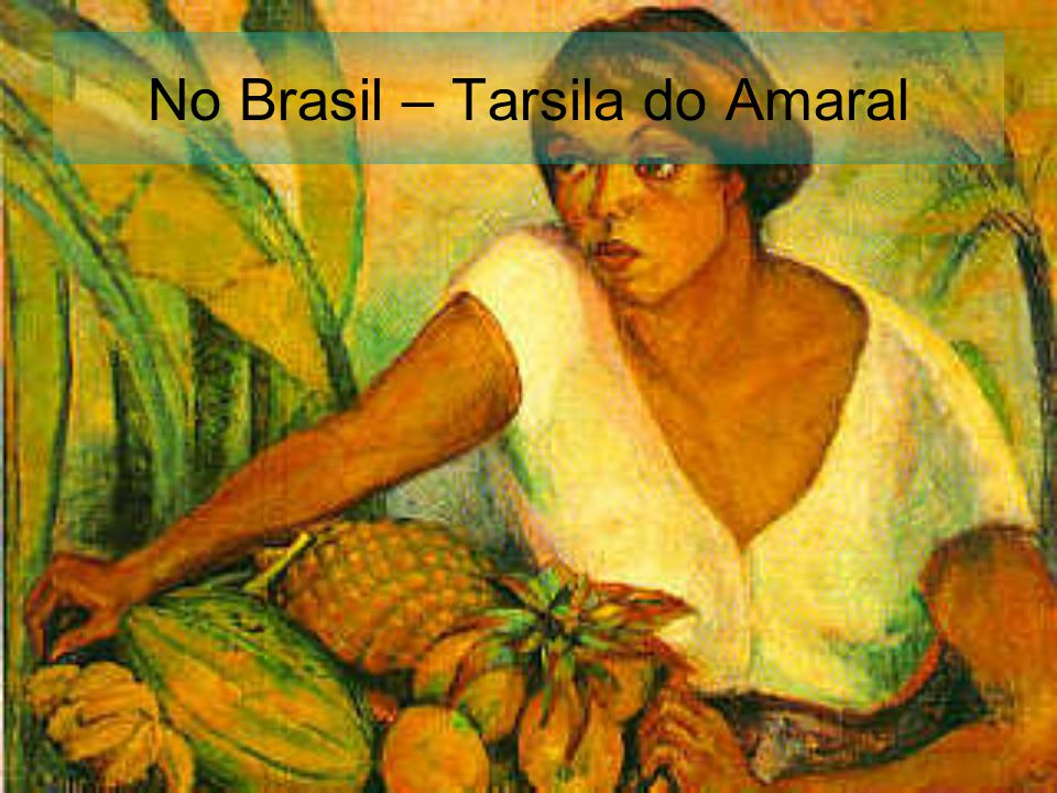 No Brasil – Tarsila do Amaral