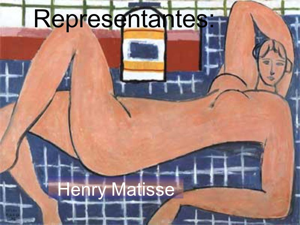 Representantes: Henry Matisse