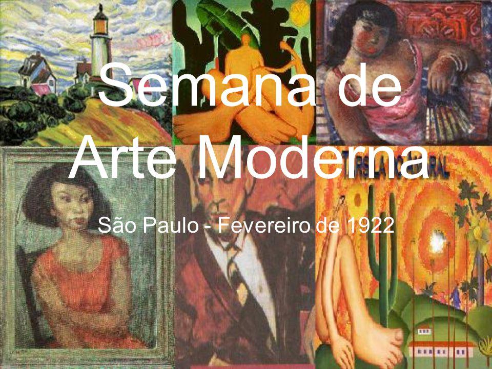 São Paulo - Fevereiro de 1922