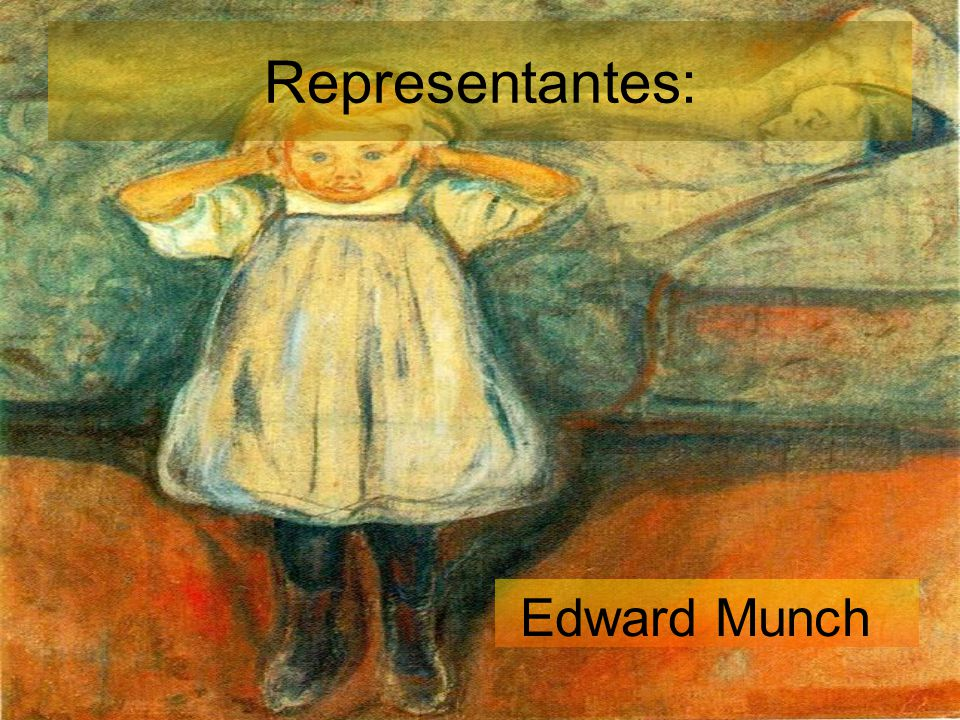 Representantes: Edward Munch