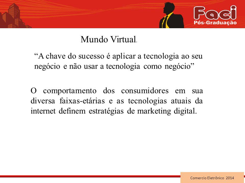 Mundo Virtual. A chave do sucesso é aplicar a tecnologia ao seu negócio e não usar a tecnologia como negócio