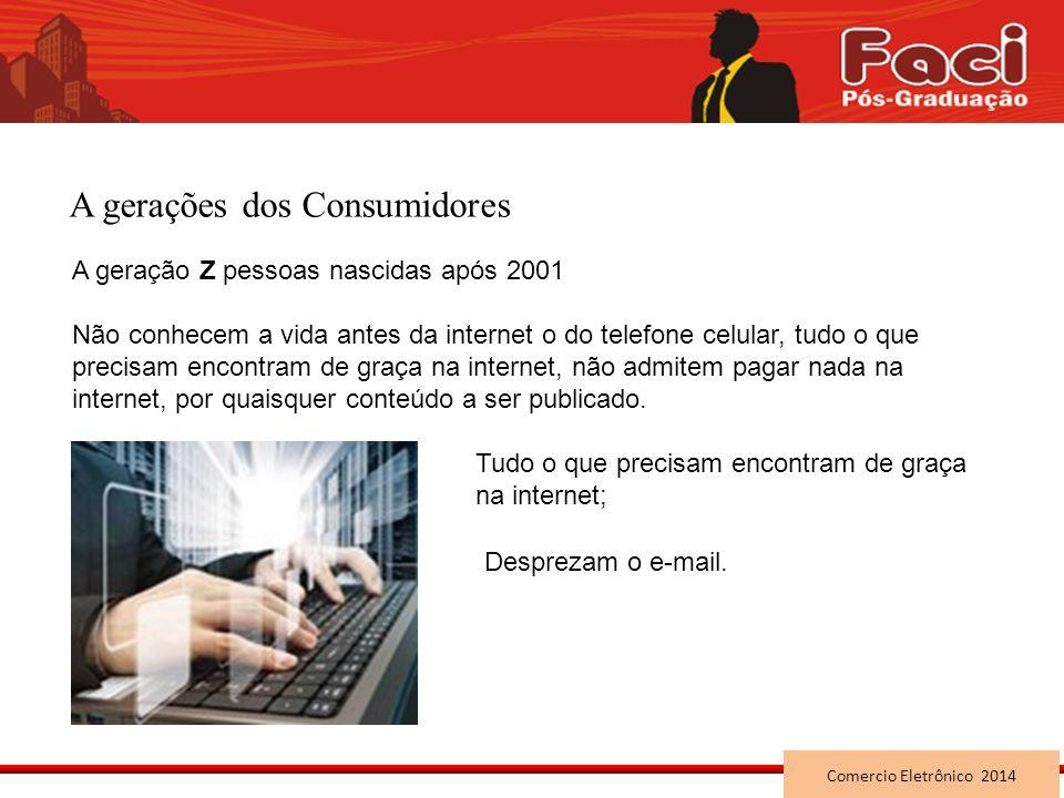 A gerações dos Consumidores