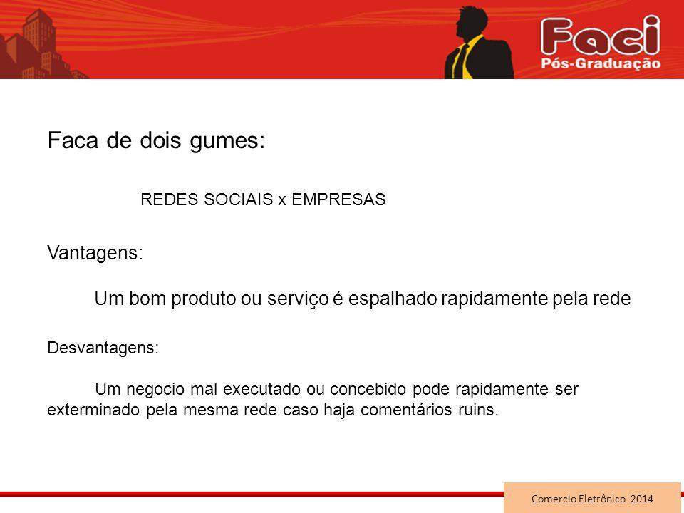 REDES SOCIAIS x EMPRESAS
