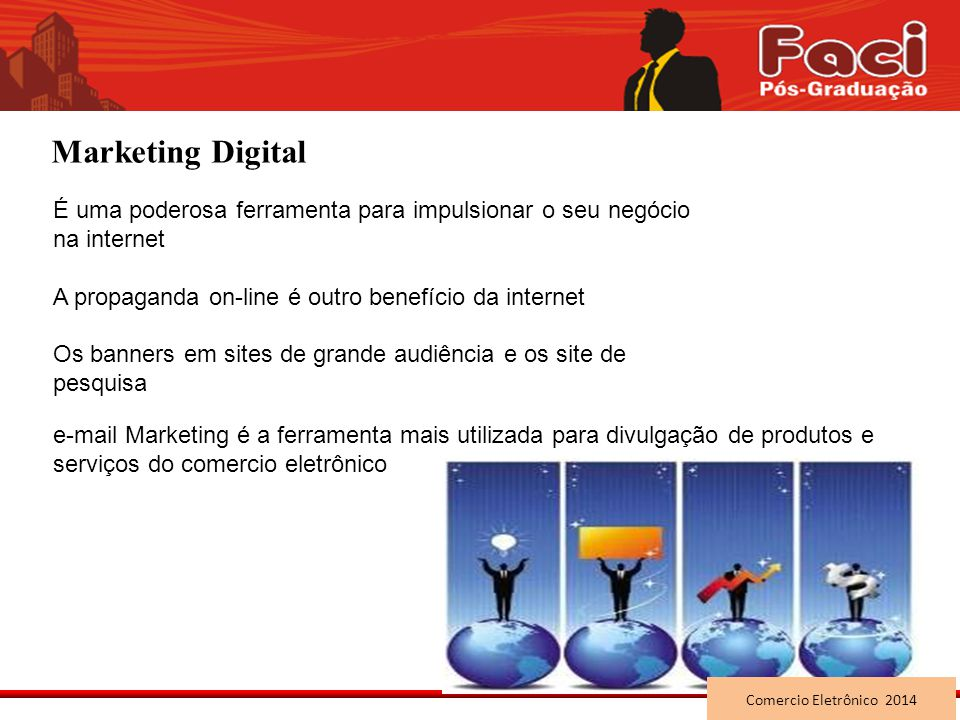 Marketing Digital É uma poderosa ferramenta para impulsionar o seu negócio na internet. A propaganda on-line é outro benefício da internet.