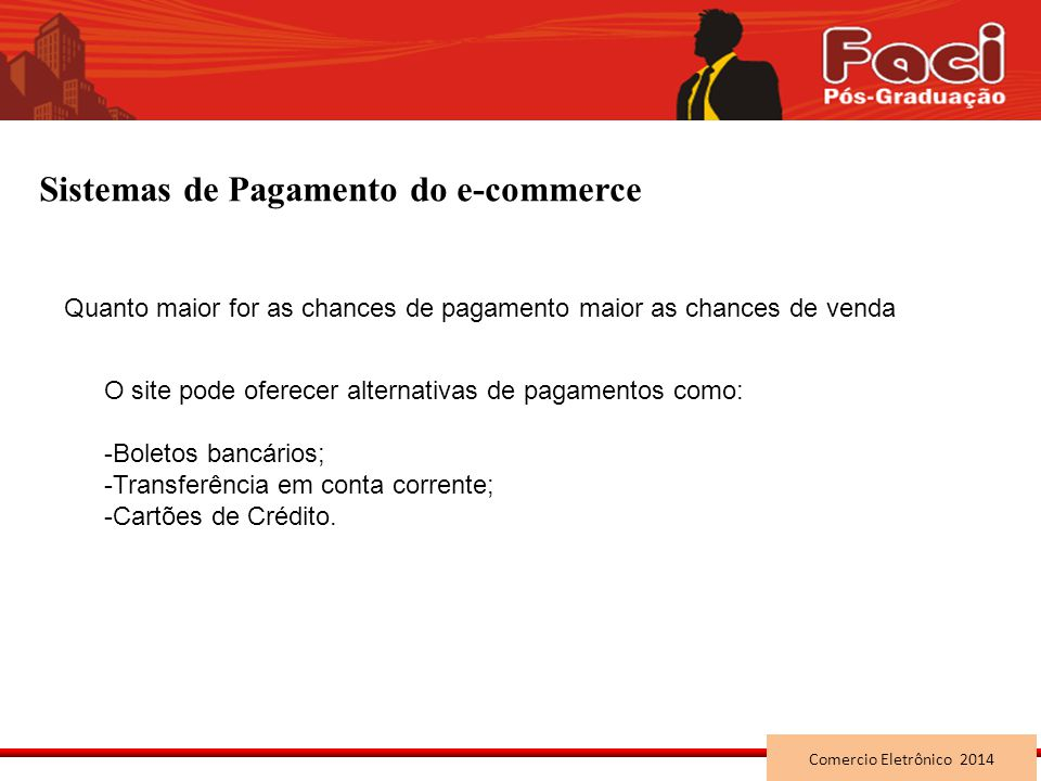 Sistemas de Pagamento do e-commerce