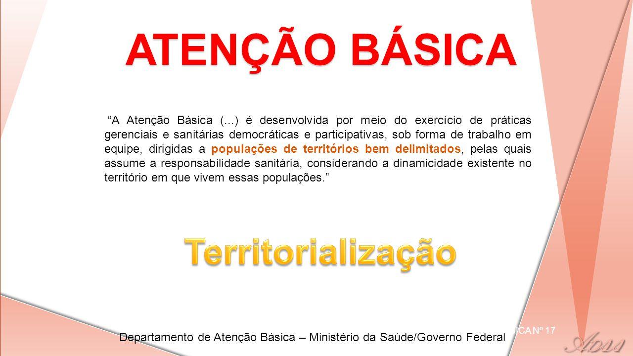 ATENÇÃO BÁSICA Territorialização