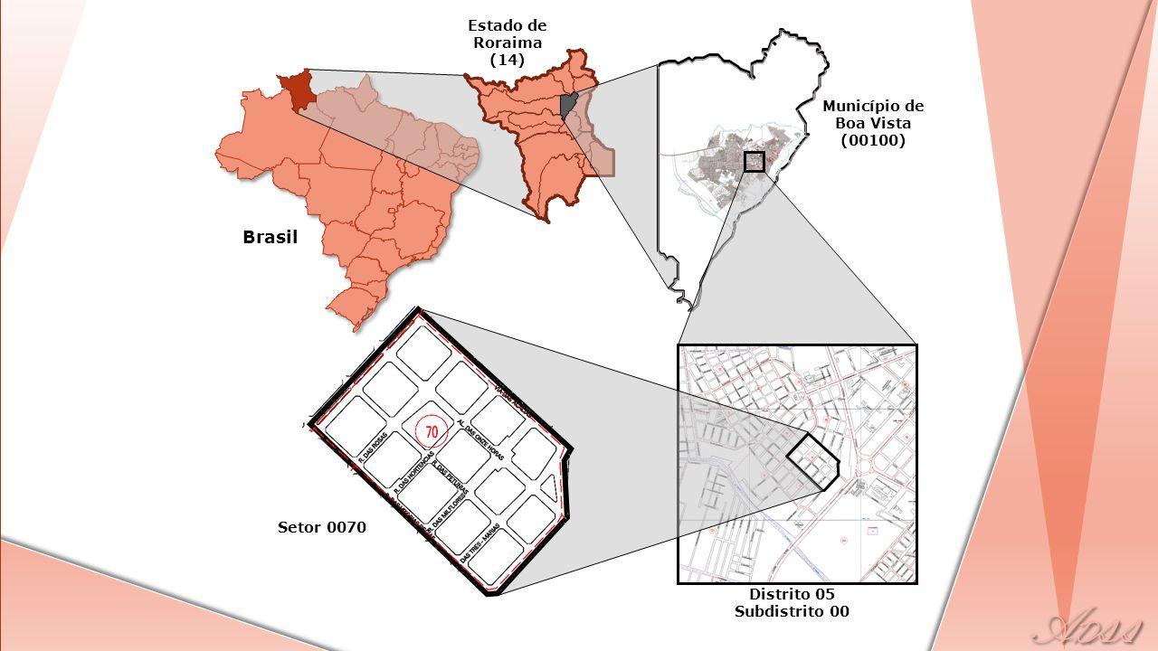 Brasil Estado de Roraima (14) Município de Boa Vista (00100)