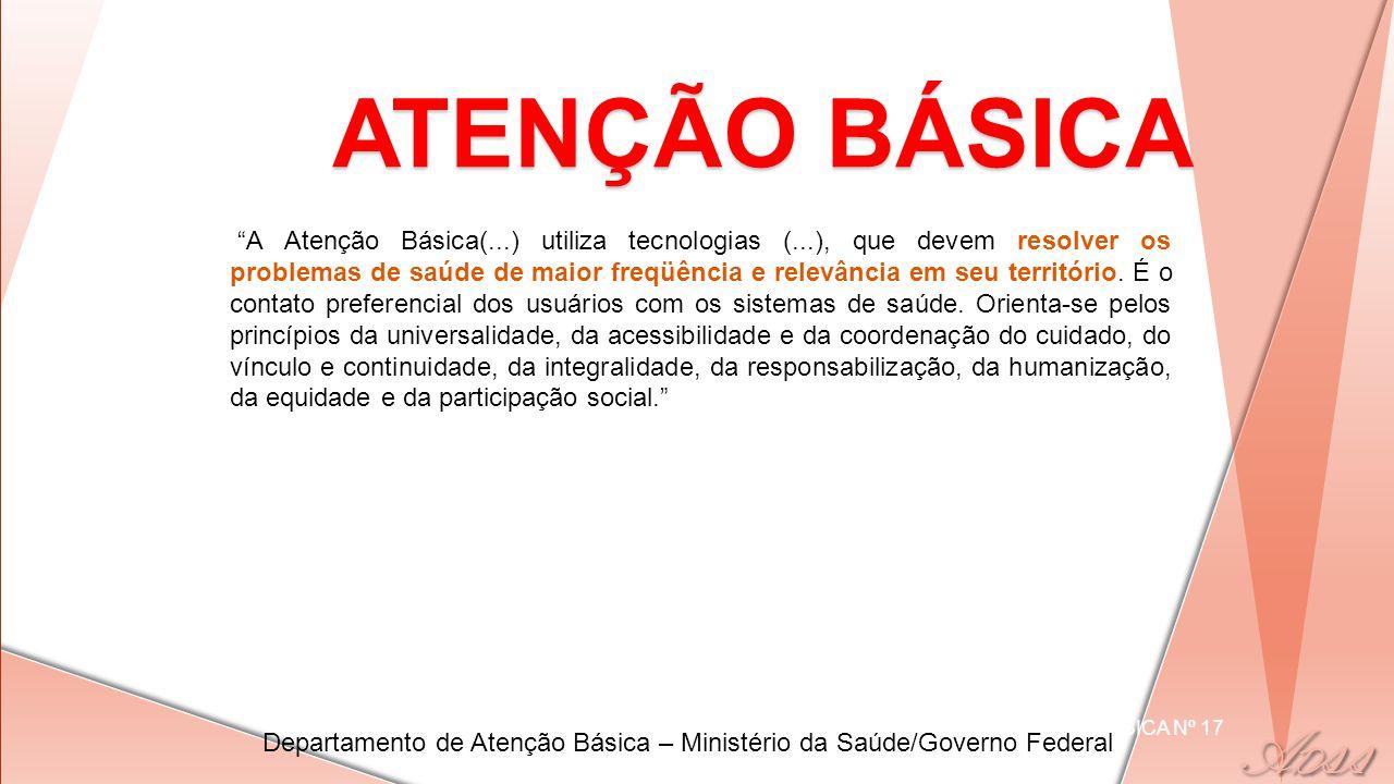 ATENÇÃO BÁSICA