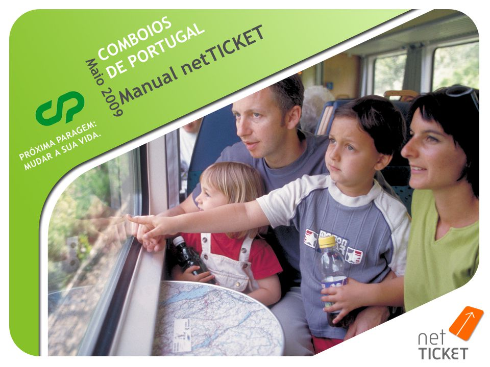 COMBOIOS DE PORTUGAL Manual netTICKET Maio 2009