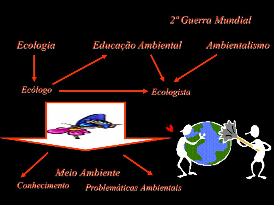 2ª Guerra Mundial Ecologia Educação Ambiental Ambientalismo