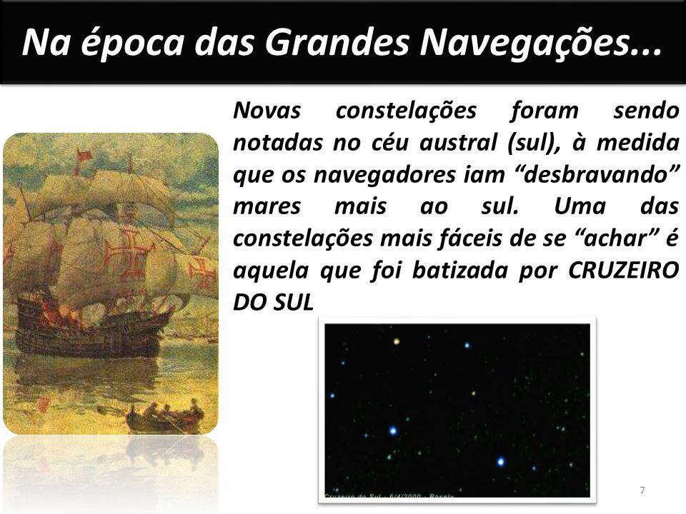 Na época das Grandes Navegações...