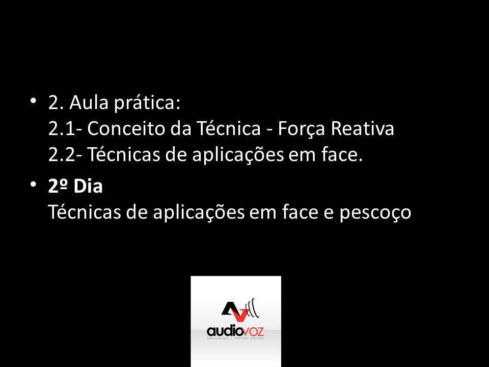 2. Aula prática: 2. 1- Conceito da Técnica - Força Reativa 2