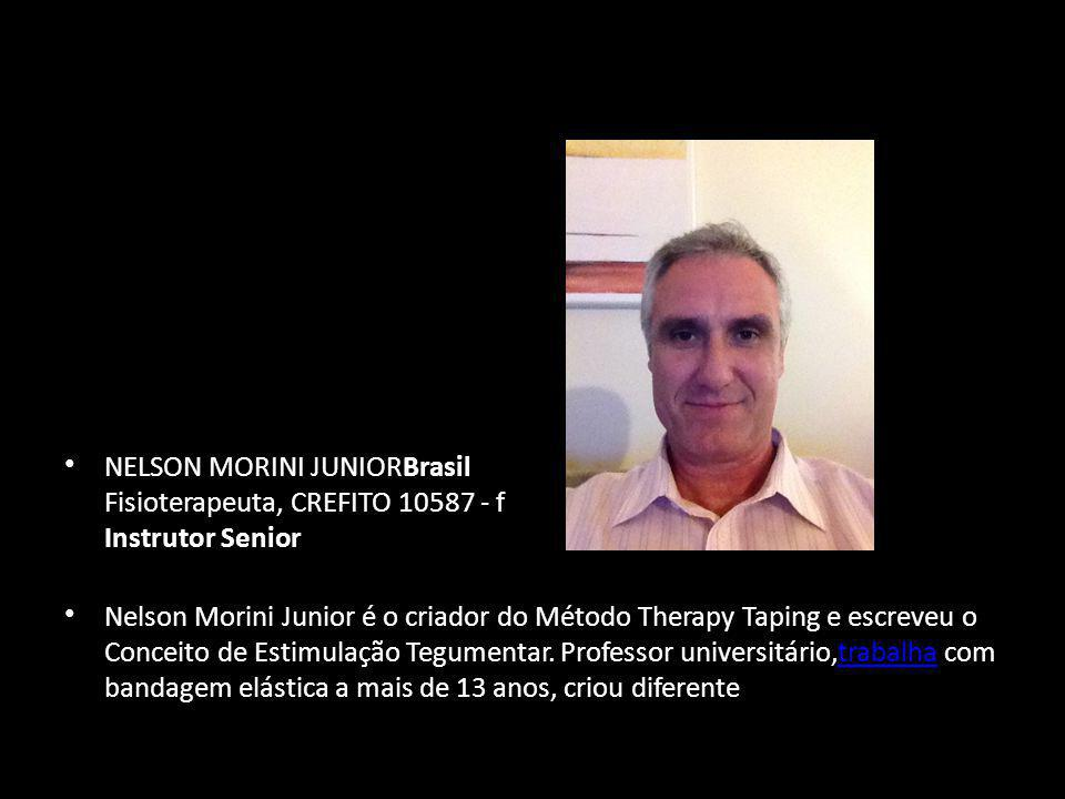 NELSON MORINI JUNIORBrasil Fisioterapeuta, CREFITO 10587 - f Instrutor Senior