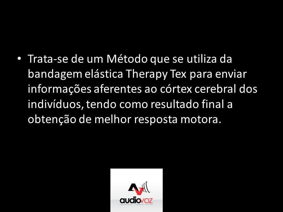 Trata-se de um Método que se utiliza da bandagem elástica Therapy Tex para enviar informações aferentes ao córtex cerebral dos indivíduos, tendo como resultado final a obtenção de melhor resposta motora.