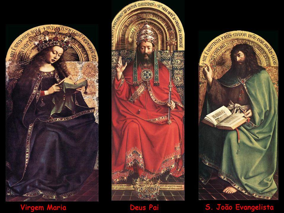 Deus Pai Virgem Maria S. João Evangelista