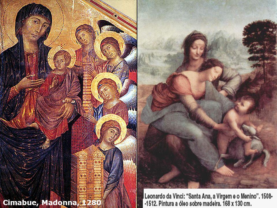 Cimabue, Madonna, 1280
