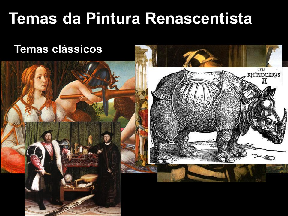 Temas da Pintura Renascentista