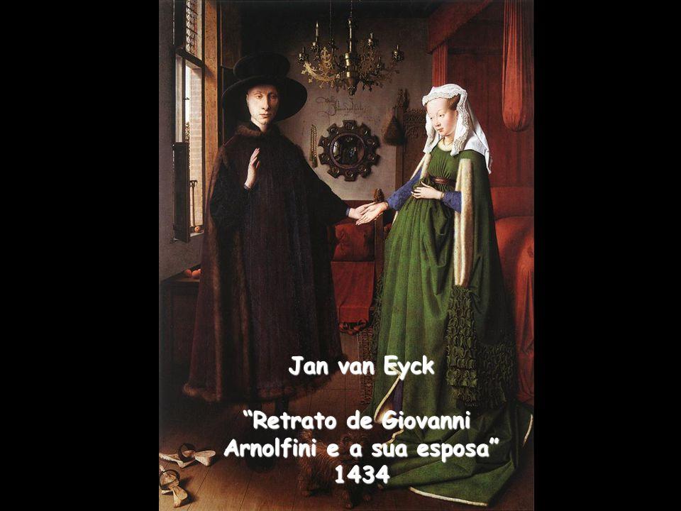 Arnolfini e a sua esposa