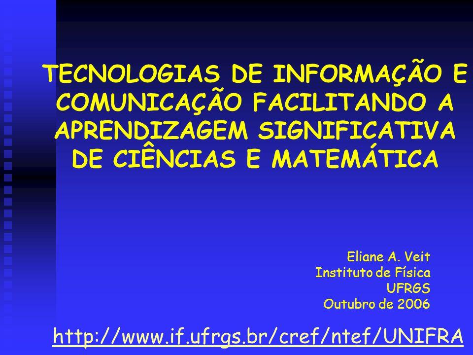 Eliane A. Veit Instituto de Física UFRGS Outubro de 2006