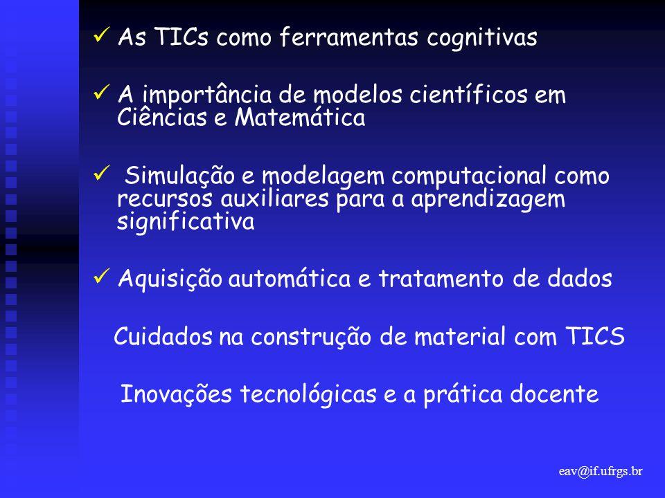 As TICs como ferramentas cognitivas
