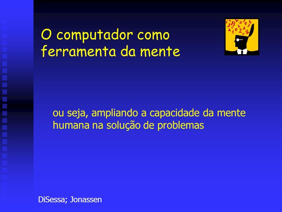 O computador como ferramenta da mente