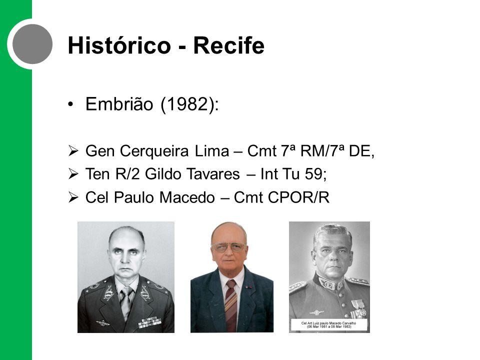 Histórico - Recife Embrião (1982):