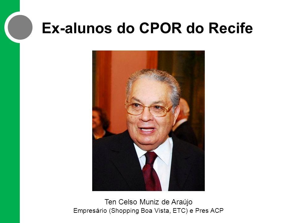 Ex-alunos do CPOR do Recife