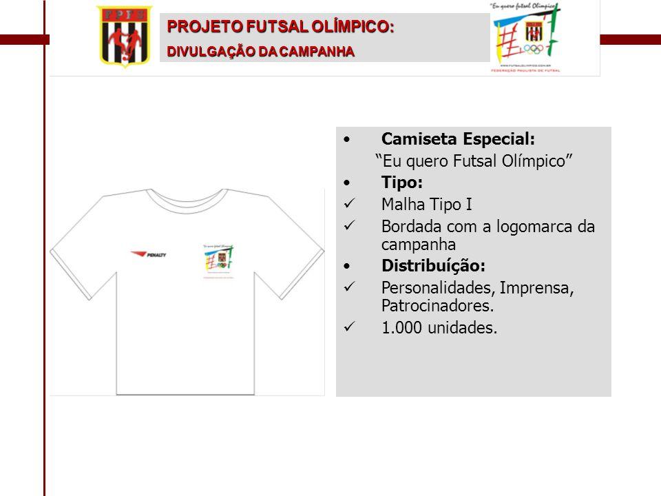 Eu quero Futsal Olímpico