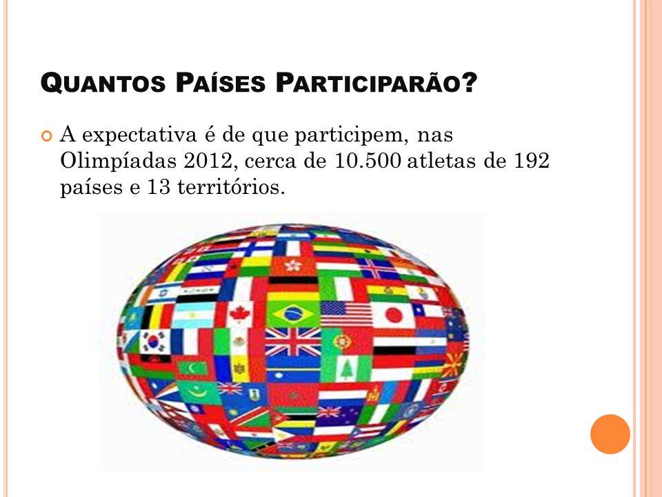 Quantos Países Participarão