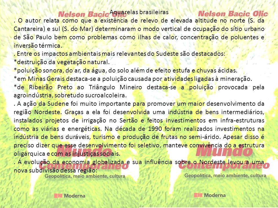Aquarelas brasileiras