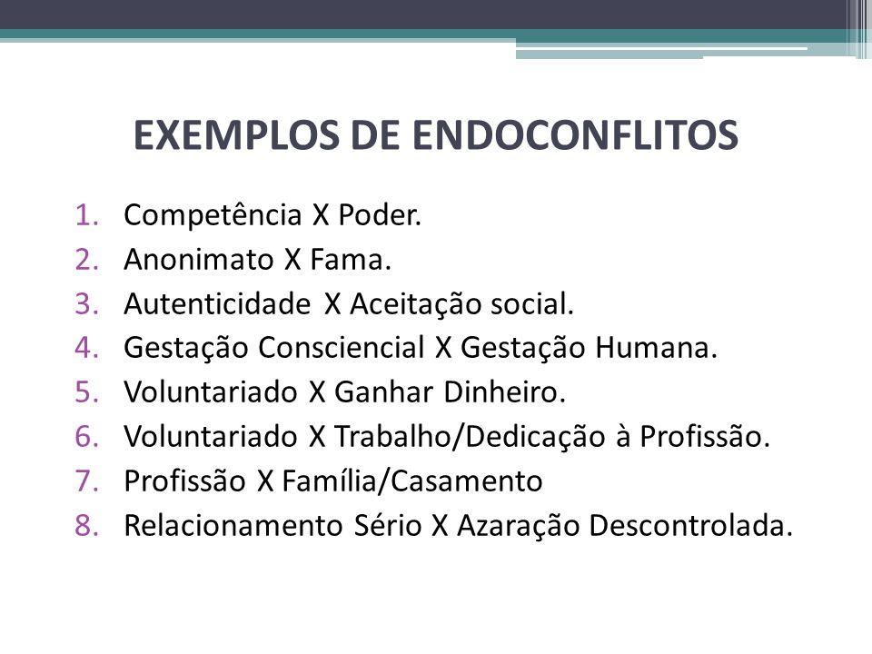 EXEMPLOS DE ENDOCONFLITOS