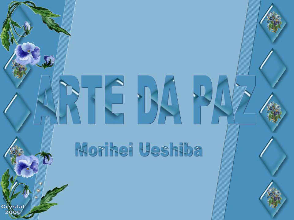 ARTE DA PAZ Morihei Ueshiba Crystal 2006