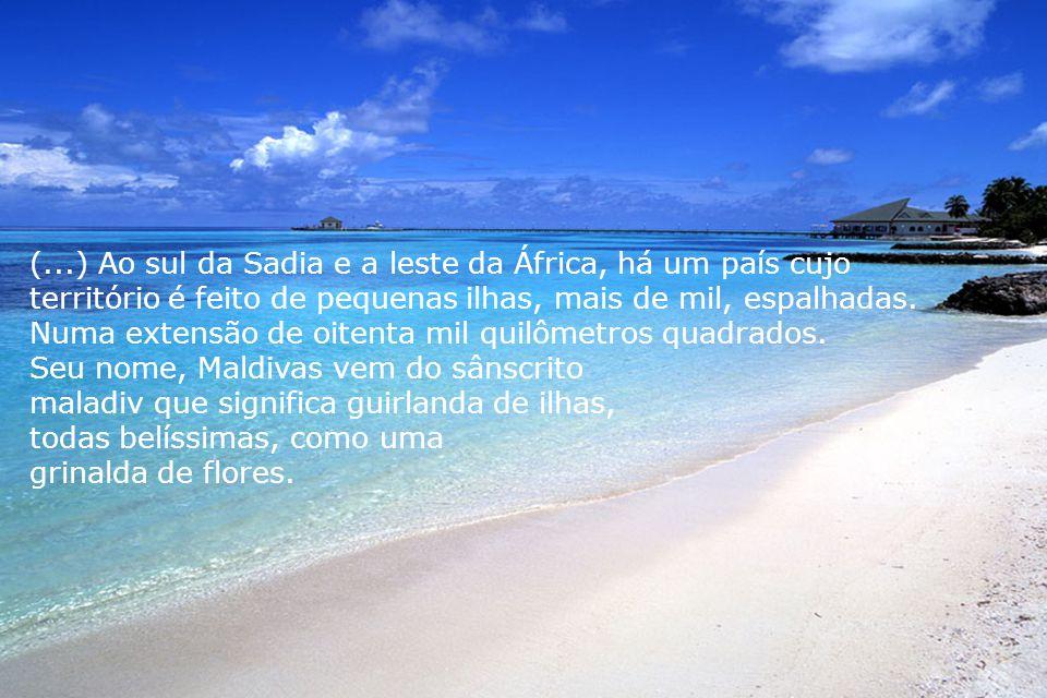 (...) Ao sul da Sadia e a leste da África, há um país cujo