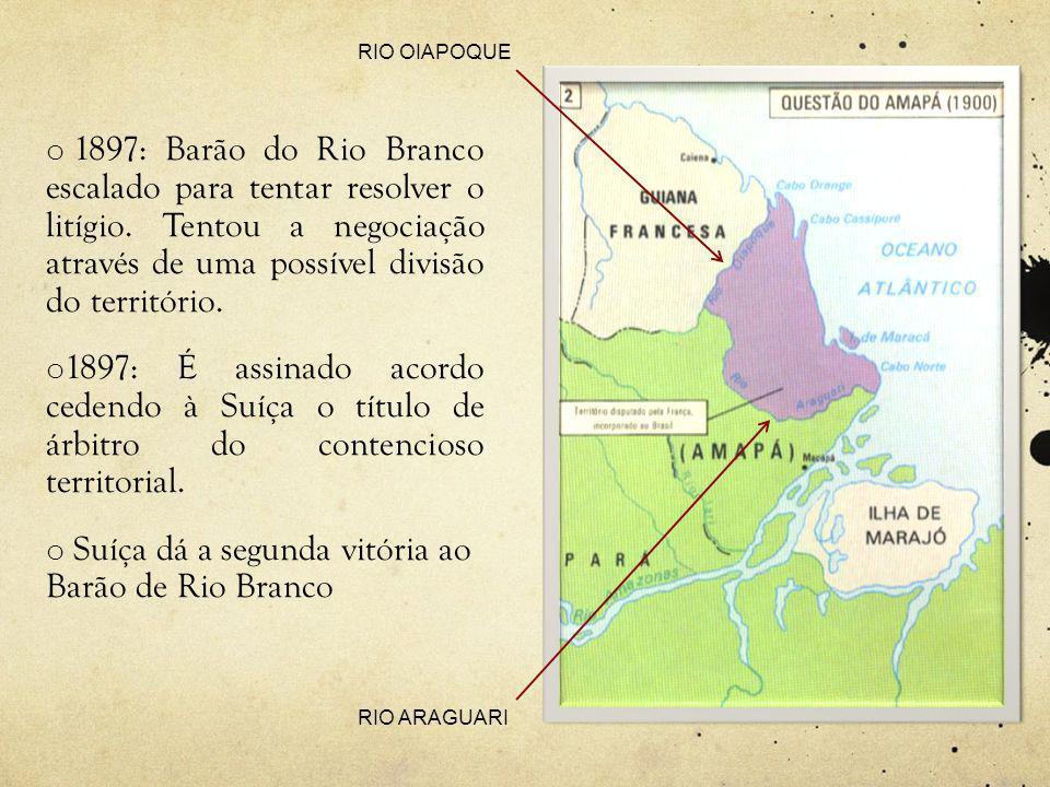 Suíça dá a segunda vitória ao Barão de Rio Branco