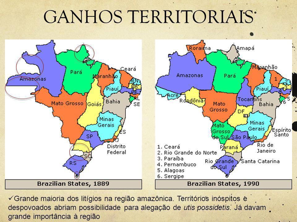 GANHOS TERRITORIAIS