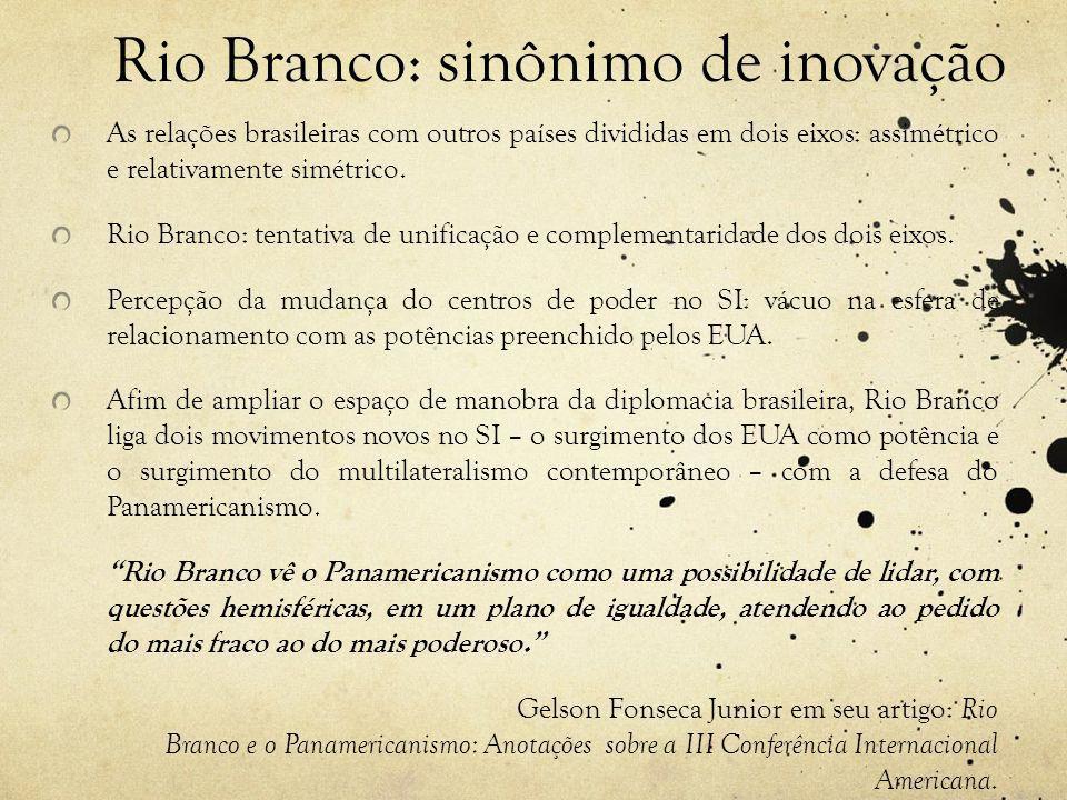 Rio Branco: sinônimo de inovação