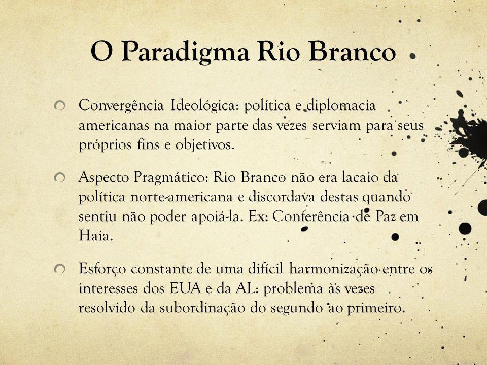 O Paradigma Rio Branco