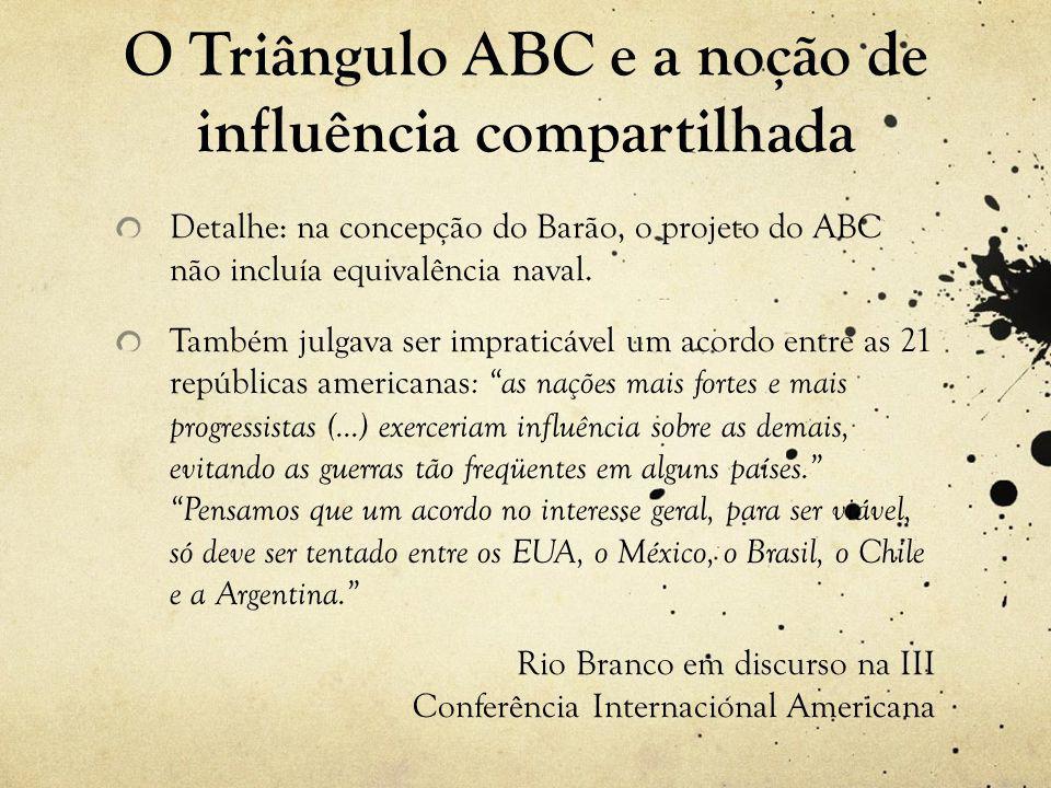 O Triângulo ABC e a noção de influência compartilhada