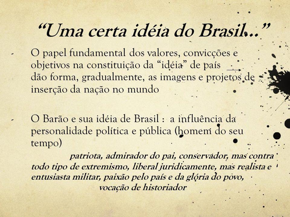 Uma certa idéia do Brasil...
