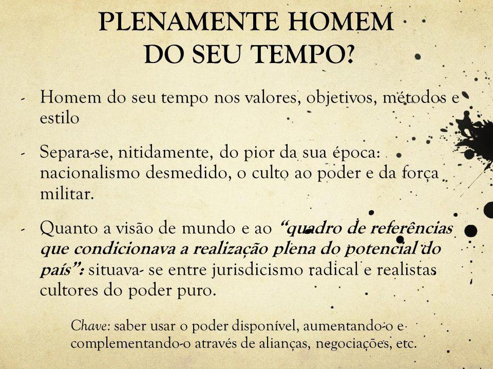 PLENAMENTE HOMEM DO SEU TEMPO