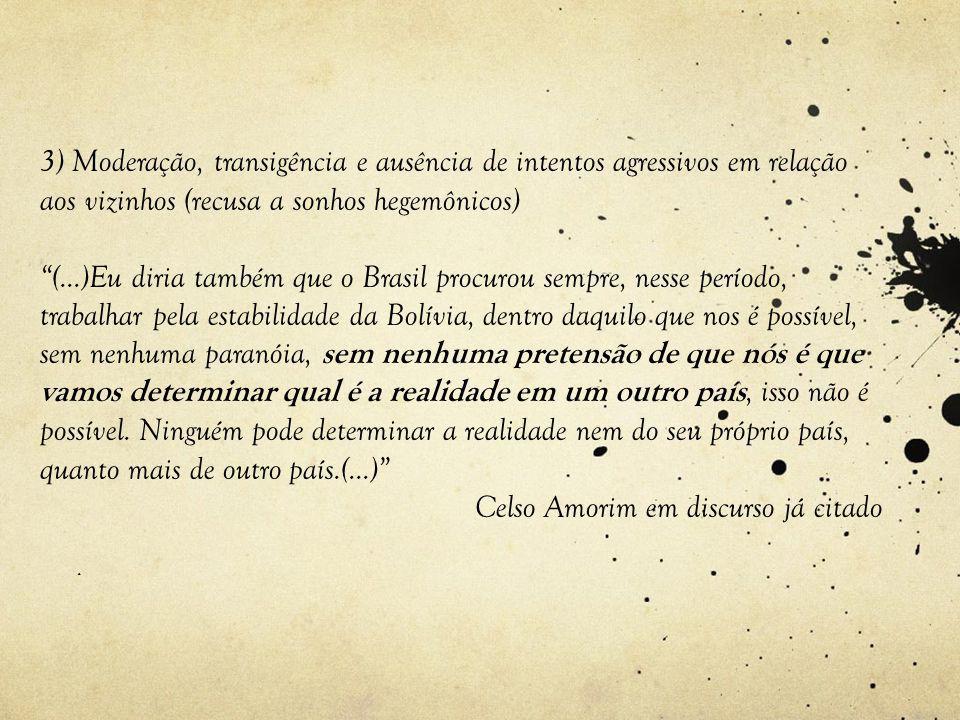 Celso Amorim em discurso já citado